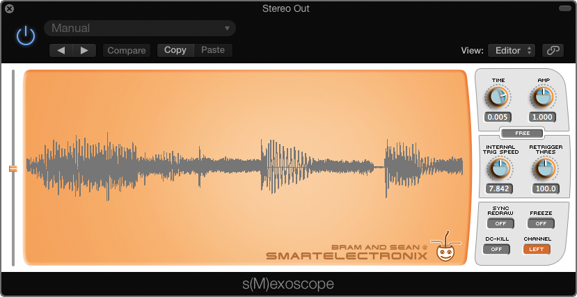 Smexoscope oscilloscoop vst plugin