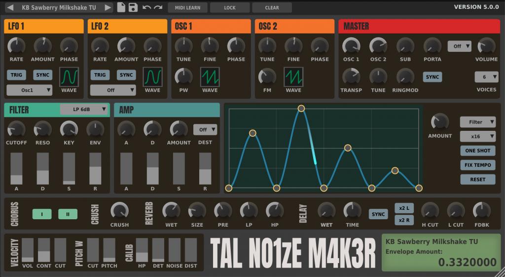 TAL Noisemaker Gratis VST Synthesizer